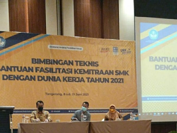 PROGRAM BANTUAN FASILITAS KEMITRAAN SMK DENGAN DU-DI TAHUN 2021